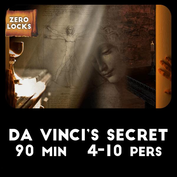 rezervari Secretul lui Da Vinci